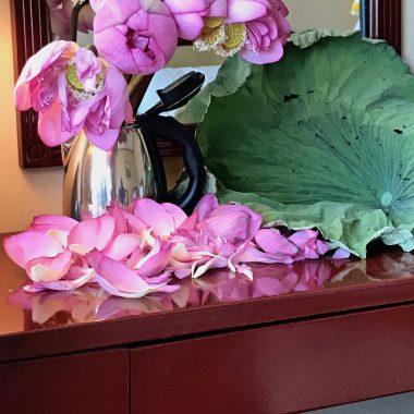 1-1ハスの花の飾り
