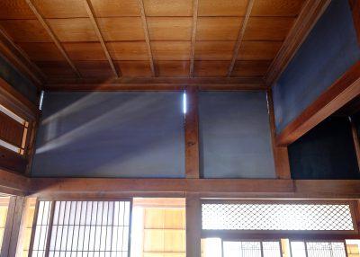 和室の壁と柱の隙間